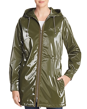 Jane Post London Shiny Raincoat