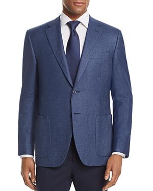 Canali Mini Houndstooth Regular Fit Sport Coat