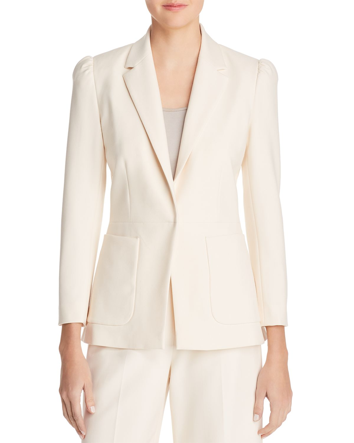 Tailored Blazer   100 Percents Exclusive by Rebecca Taylor