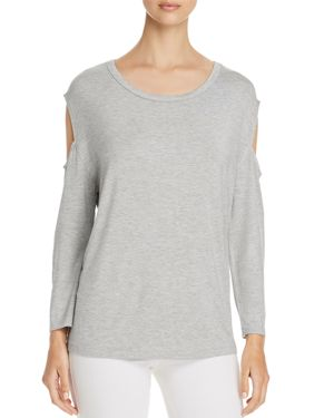 ALISON ANDREWS SLEEVE-CUTOUT TOP