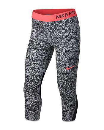9965d604e Nike Girls' Pro Printed Capri Leggings - Big Kid | Bloomingdale's