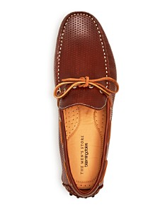 The Men's Store at Bloomingdale's - Men's Perforated Leather Moc Toe Drivers - 100% Exclusive