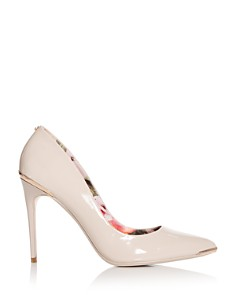 Ted Baker - Women's Kaawa Patent Leather Pointed Toe Pumps