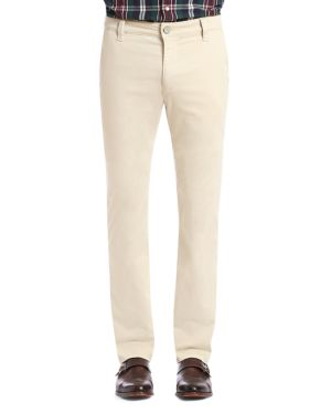 34 HERITAGE CHARISMA COMFORT-RISE CLASSIC STRAIGHT FIT TWILL PANTS