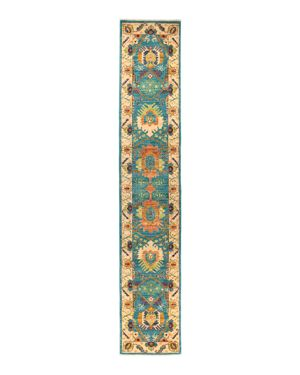 Solo Rugs Abstract Runner Rug, 2'7 x 14'1