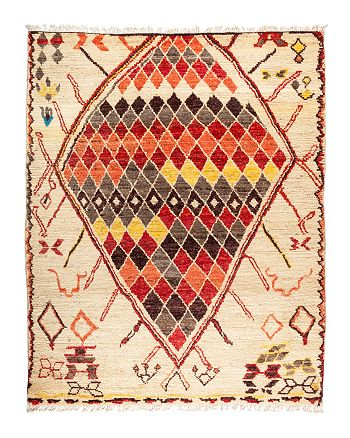 Solo Rugs - Tribal Area Rug, 8' x 9'10""