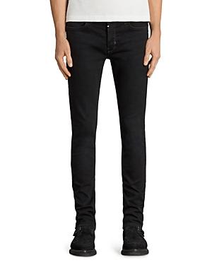 Allsaints Balboa Rex Slim Fit Jeans in Black
