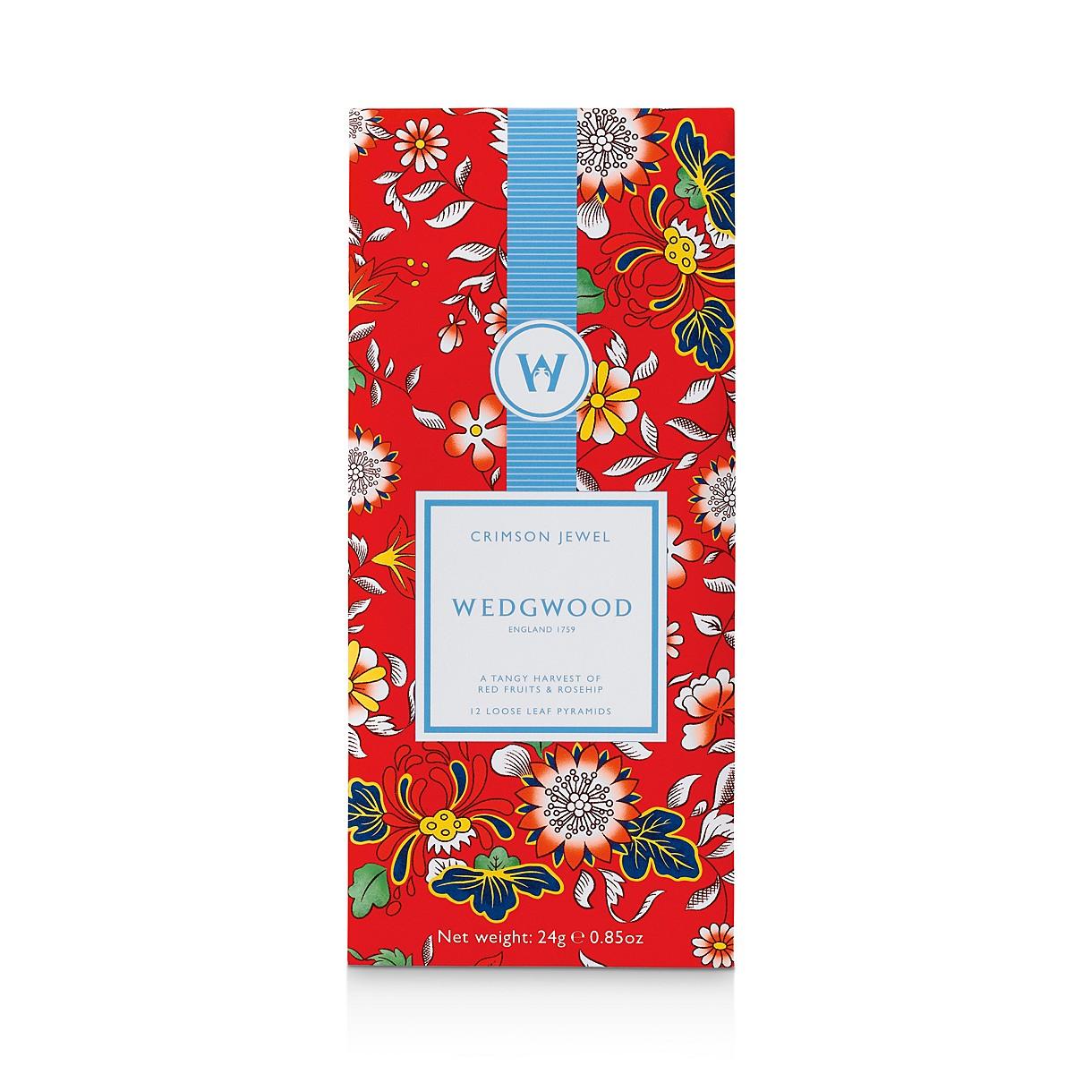 Wedgwood Wonderlust Fruit Infusion Tea Box, Set of 12 ...