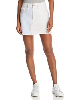 Levi's - Alternative Denim Skirt in Halfsies