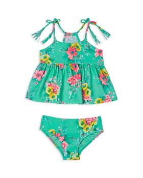 Hula Star - Girls' Garden Dream Tankini Swimsuit - Little Kid