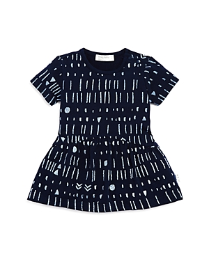 Miles Baby Girls' Printed Jersey Dress - Baby