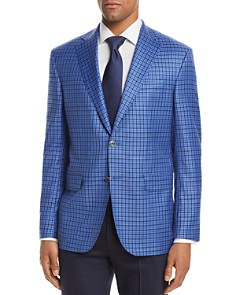 Jack Victor District Check Classic Fit Sport Coat - Bloomingdale's_0