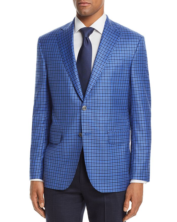 Jack Victor - District Check Regular Fit Sport Coat