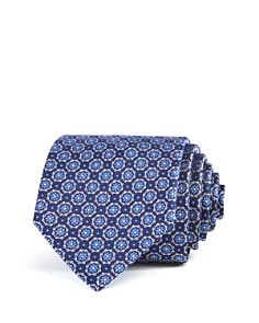 The Men's Store at Bloomingdale's Floret Circles Neat Classic Tie - 100% Exclusive _0