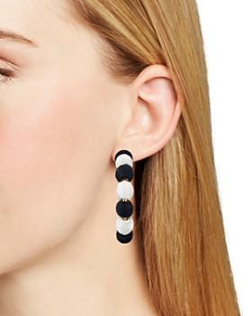AQUA - Ball Hoop Earrings - 100% Exclusive