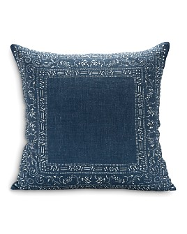 "Sugar Feather - Georgia Dark Decorative Pillow, 22"" x 22"""