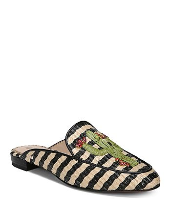 Sam Edelman - Women's Jillian Embroidered Mules