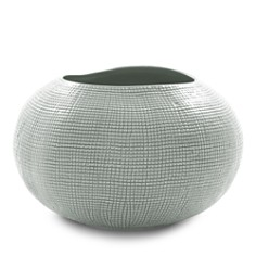 Mitchell Gold Bob Williams Textured Silver Vase - Bloomingdale's_0