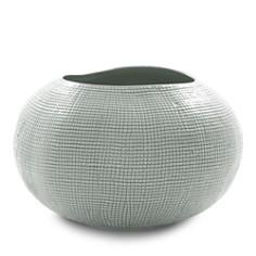 Mitchell Gold Bob Williams - Textured Silver Vase