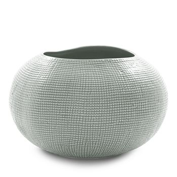 Mitchell Gold Bob Williams - Textured Silver Vase