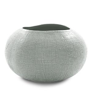 Mitchell Gold Bob Williams Textured Silver Vase