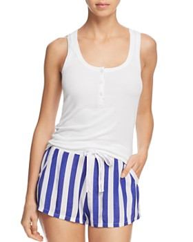 Calvin Klein - Tank & Striped Shorts PJ Set
