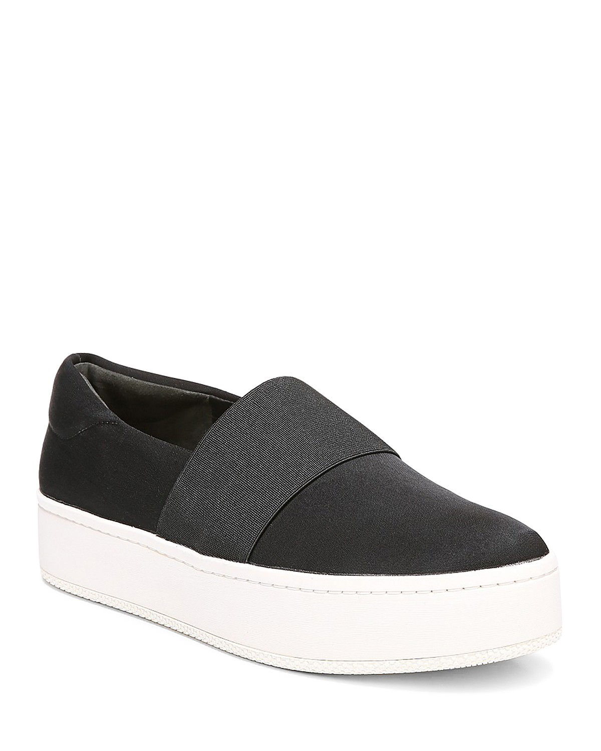 Cheap Sale Explore Via Spiga Women's Traynor Leather Slip-On Platform Sneakers Buy Cheap Low Shipping Fee Discount Classic Buy Cheap With Mastercard Best DE8mz4pqQd