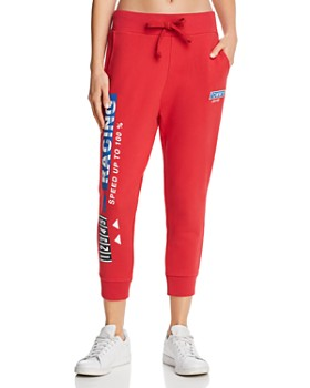 Tommy Jeans -  Logo Cropped Sweatpants