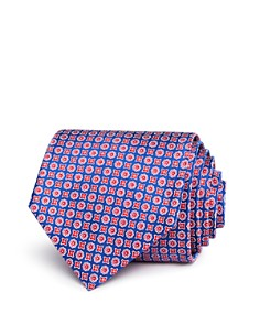 The Men's Store at Bloomingdale's Printed Mini Square Floret Neat Classic Tie - 100% Exclusive_0