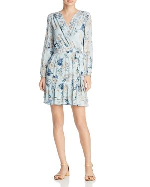 BELTAINE PRINTED WRAP DRESS - 100% EXCLUSIVE