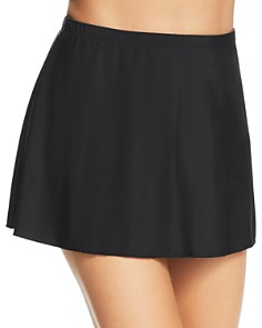 Miraclesuit - Solid 18 Skirted Bottom