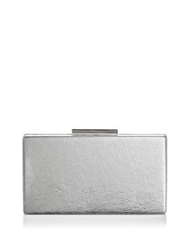AQUA - Metallic Box Clutch - 100% Exclusive