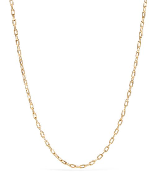 David Yurman - Madison Thin Chain Necklace in 18K Gold