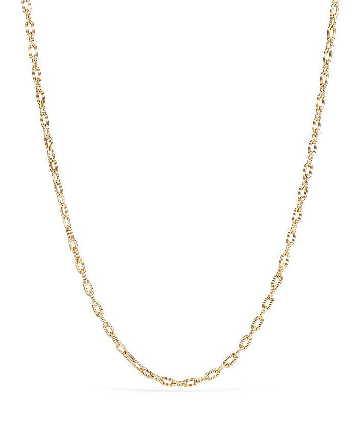David Yurman - Madison Thin Chain Necklace in 18K Gold