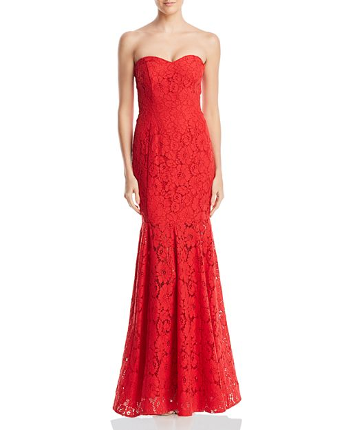 Decode 1.8 - Strapless Lace Gown