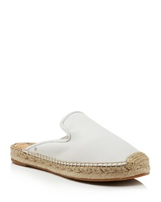 Sam Edelman - Women's Kerry Leather Espadrille Mules