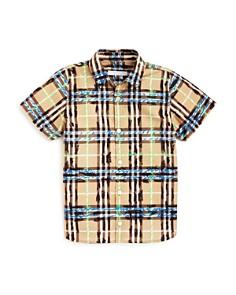Burberry Boys Clarkey Scribble Check Shirt - Little Kid, Big Kid - Bloomingdale's_0
