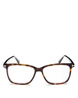 Tom Ford - Square Blue Light Glasses, 55mm