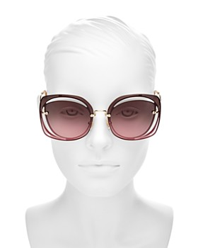 Miu Miu - Women's Scenique Evolution Square Sunglasses, 64mm