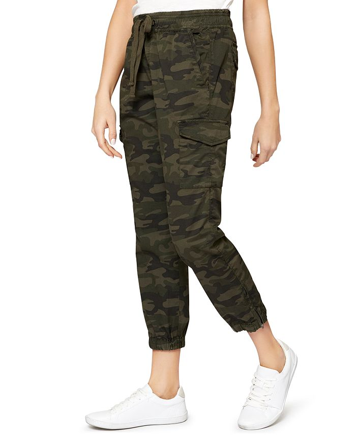detailed images available good service Camo Cargo Jogger Pants
