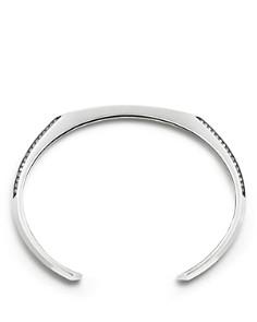 David Yurman - Pavé Heirloom Cuff Bracelet with Gray Sapphire