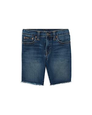 Polo Ralph Lauren Boys Frayed Denim Cutoff Shorts  Little Kid