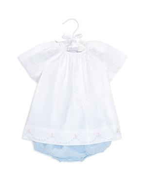 Ralph Lauren Girls Embroidered Cotton Tunic  Linen Bloomers Set  Baby