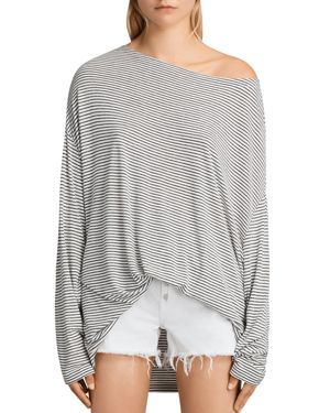 Allsaints Rita Oversized Striped Tee