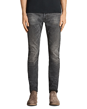 Allsaints Galendo Rex Slim Fit Jeans in Gray