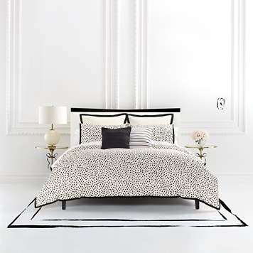 $kate spade new york Flamingo Dot Bedding Collection - Bloomingdale's