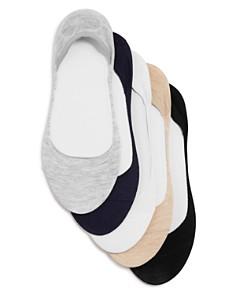 Ralph Lauren Flat Knit Liner Socks, Set of 5 - Bloomingdale's_0