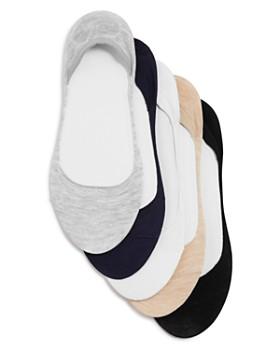 Ralph Lauren - Flat Knit Liner Socks, Set of 5