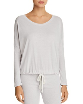 Eberjey - Heather Slouchy Tee & Lounge Pants