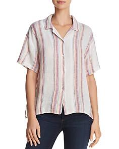 Rails - Zuma Metallic Striped Shirt